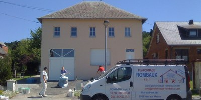 Entreprise Rombaux - Crépi